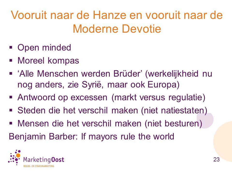  Open minded  Moreel kompas  'Alle Menschen werden Brüder' (werkelijkheid nu nog anders, zie Syrië, maar ook Europa)  Antwoord op excessen (markt