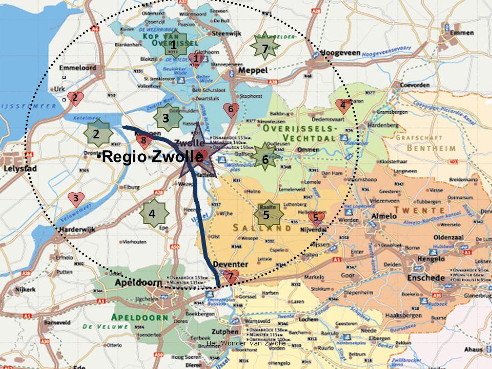 6 5 4 2 1 3 1 2 4 8 7 3 5 9 6 Regio Zwolle 7 Het Wonder van Zwolle