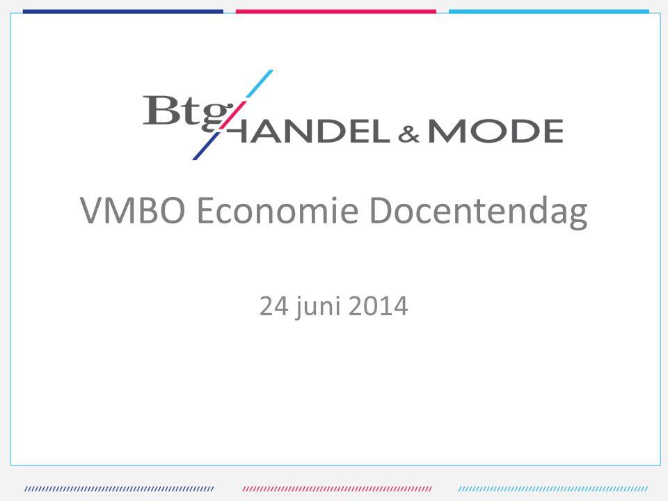 VMBO Economie Docentendag 24 juni 2014
