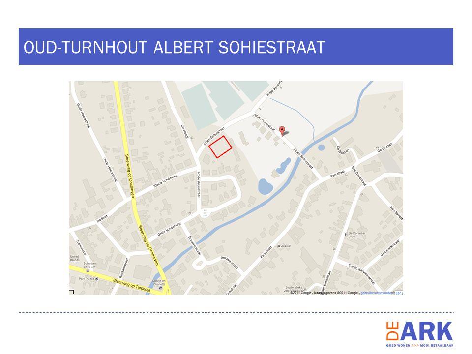 OUD-TURNHOUT ALBERT SOHIESTRAAT