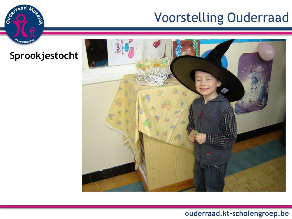 Voorstelling Ouderraad ouderraad.kt-scholengroep.be U bent welkom : … op onze aanstormende activiteiten : DatumActiviteit … op onze volgende vergadering Wanneer .