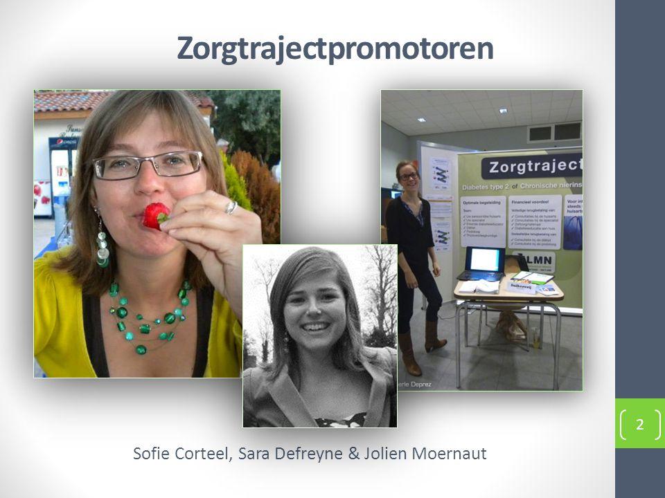 Zorgtrajectpromotoren Sofie Corteel, Sara Defreyne & Jolien Moernaut 2