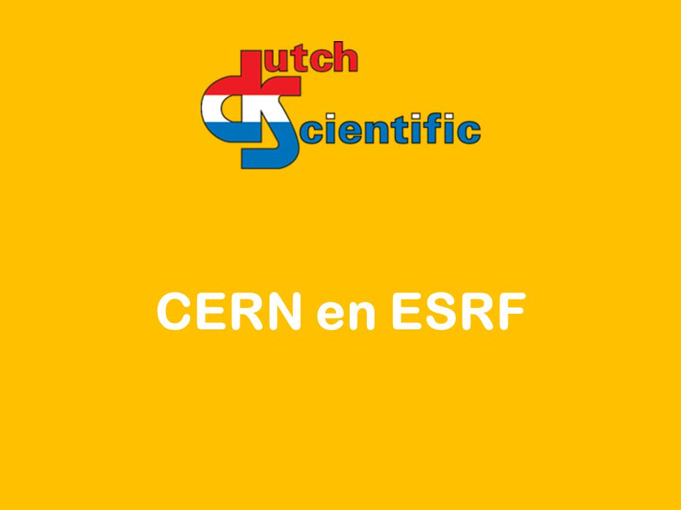 CERN en ESRF