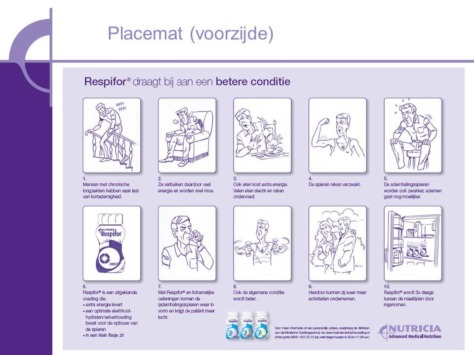 Placemat (voorzijde)