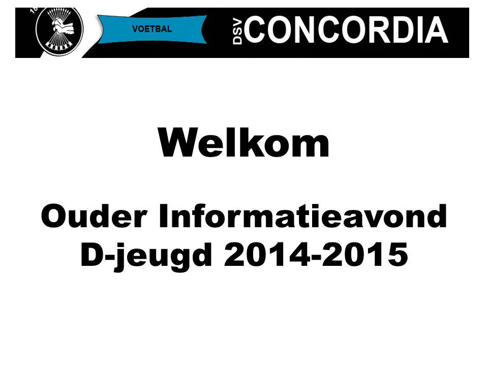 Doelstelling Concordia: de leukste en beste jeugdopleiding van Delft Indelingen voor D4 t/m D7 zijn op basis van sterkte en talent gecombineerd met voorkeuren vriendjes en verhouding verdedigend/aanvallend ingestelde spelers Team Indelingen D4 t/m D7