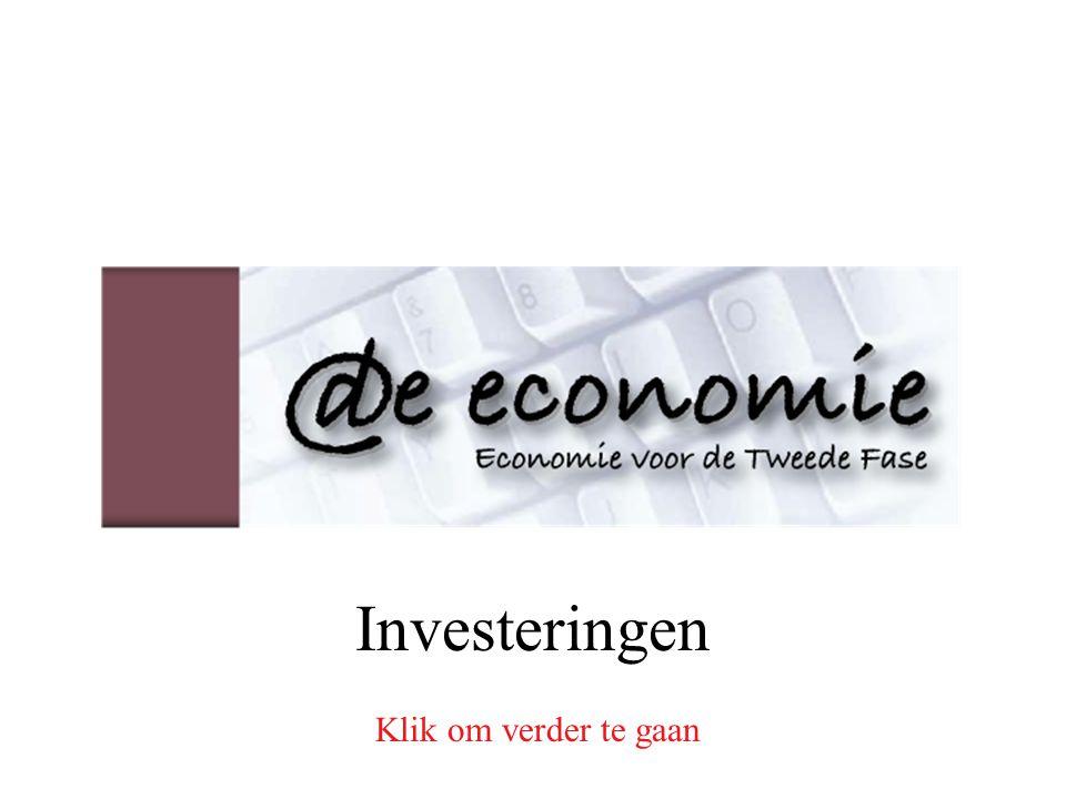 Investeringen Klik om verder te gaan