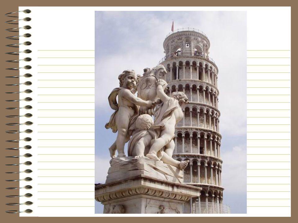 De scheve toren is in de ganse wereld bekend en maakt van Pisa een verplicht bezoek in Toscane. Gebouwd in de delta van de rivier Arno was de stad al