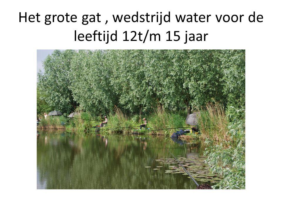 Het grote gat, wedstrijd water voor de leeftijd 12t/m 15 jaar