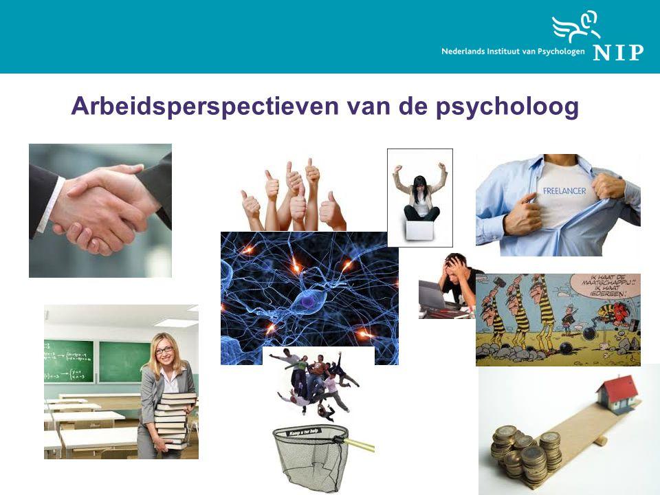 Arbeidsperspectieven van de psycholoog