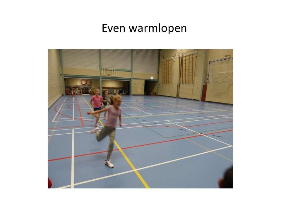 Even warmlopen