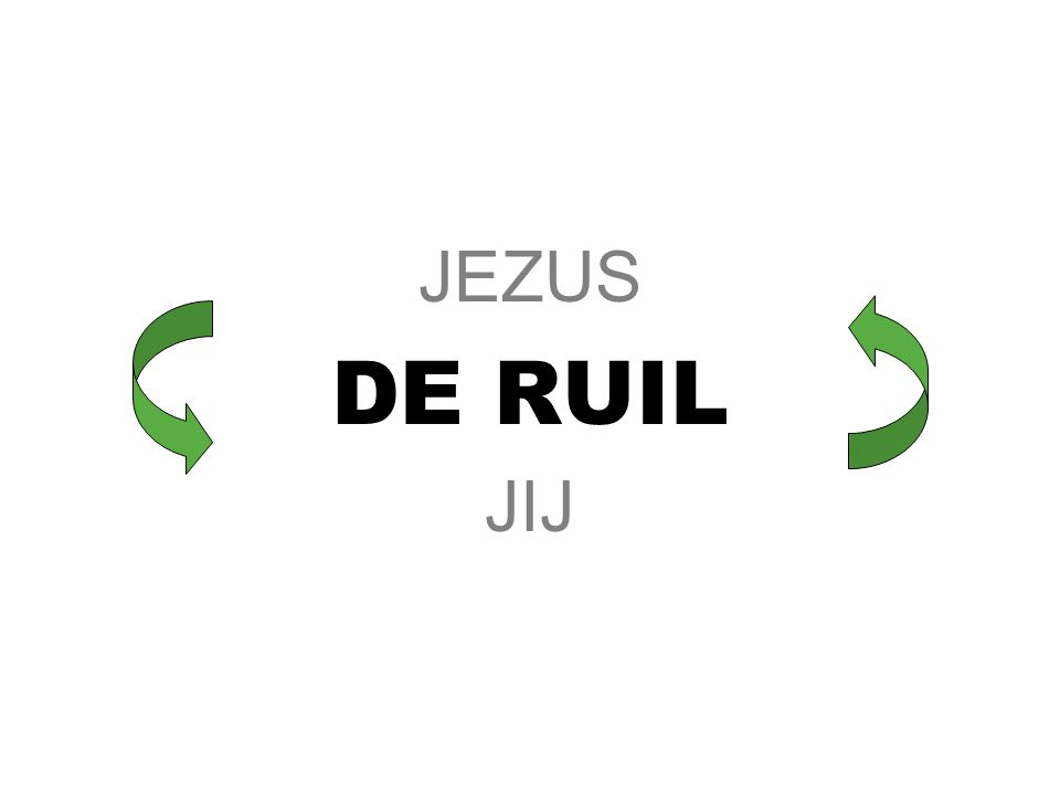 DE RUIL JEZUS nam onze zonden JIJ EN IK kregen Jezus' gerechtigheid (goedkeuring voor alle zegen)