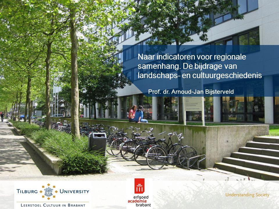Naar indicatoren voor regionale samenhang. De bijdrage van landschaps- en cultuurgeschiedenis Prof. dr. Arnoud-Jan Bijsterveld