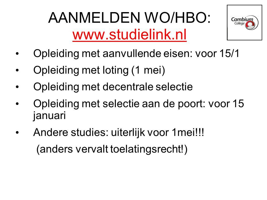 www.duo.nl Informatie over studiefinanciering Informatie over loting/decentrale selectie/selectie aan de poort/aanvullende eisen Voorlichtingsavond VWO 6 18 november Sociaal leenstelstel Zie kopje Handig decanensite