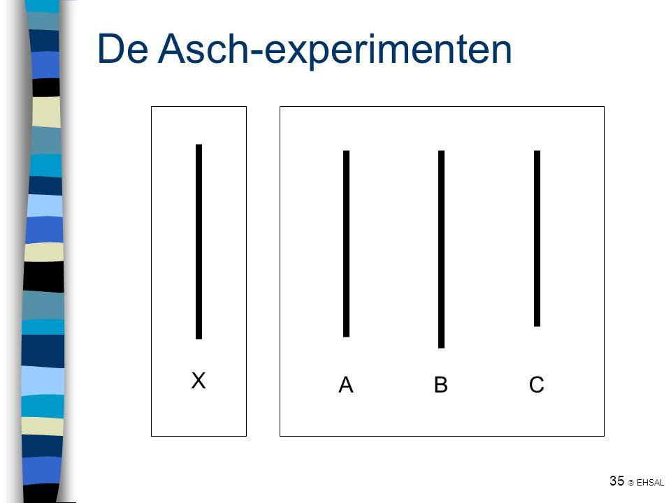 35  EHSAL De Asch-experimenten ABC X