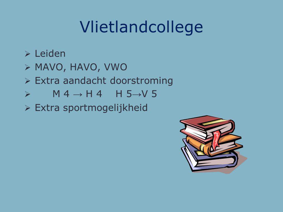 Wellantcollege  Oegstgeest  Een 'groene' opleiding  Voornamelijk VMBO-B, VMBO-K, VMBO-G  Ook LWOO