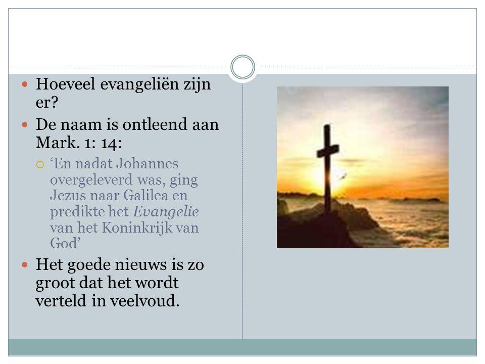 Overeenkomsten Het opvallende aan de evangeliën is dat ze heel veel gemeenschappelijk hebben.