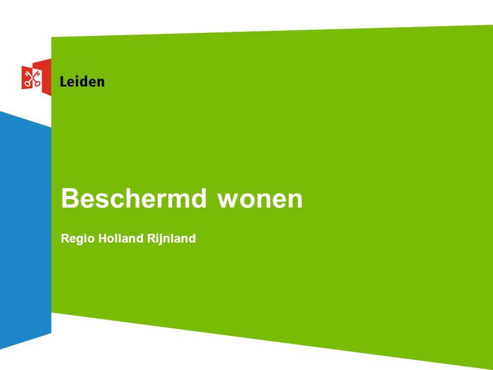 Beschermd wonen Regio Holland Rijnland