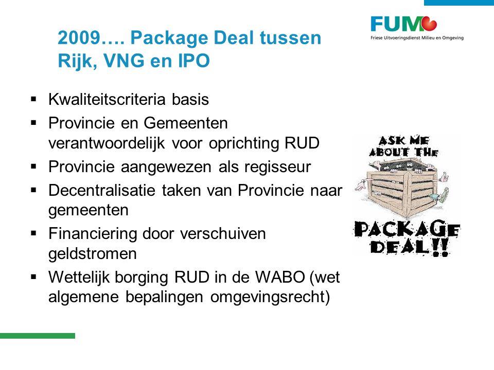 Kwaliteit als uitgangspunt  Kwaliteitscriteria voor RUD en …gemeenten.
