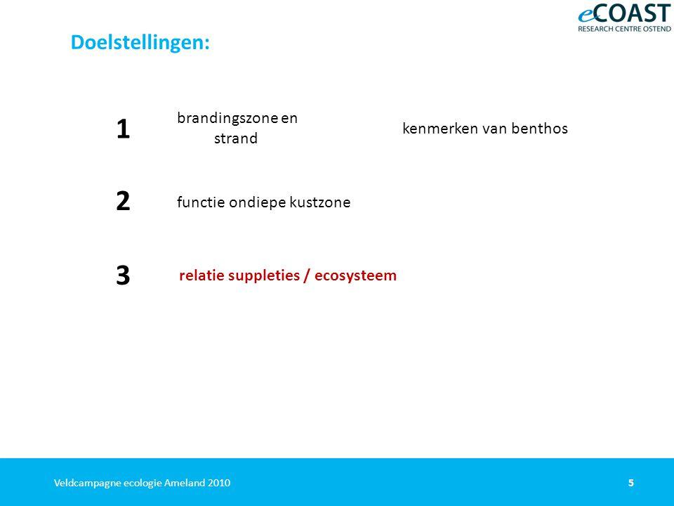 36Veldcampagne ecologie Ameland 2010 Met dank aan: