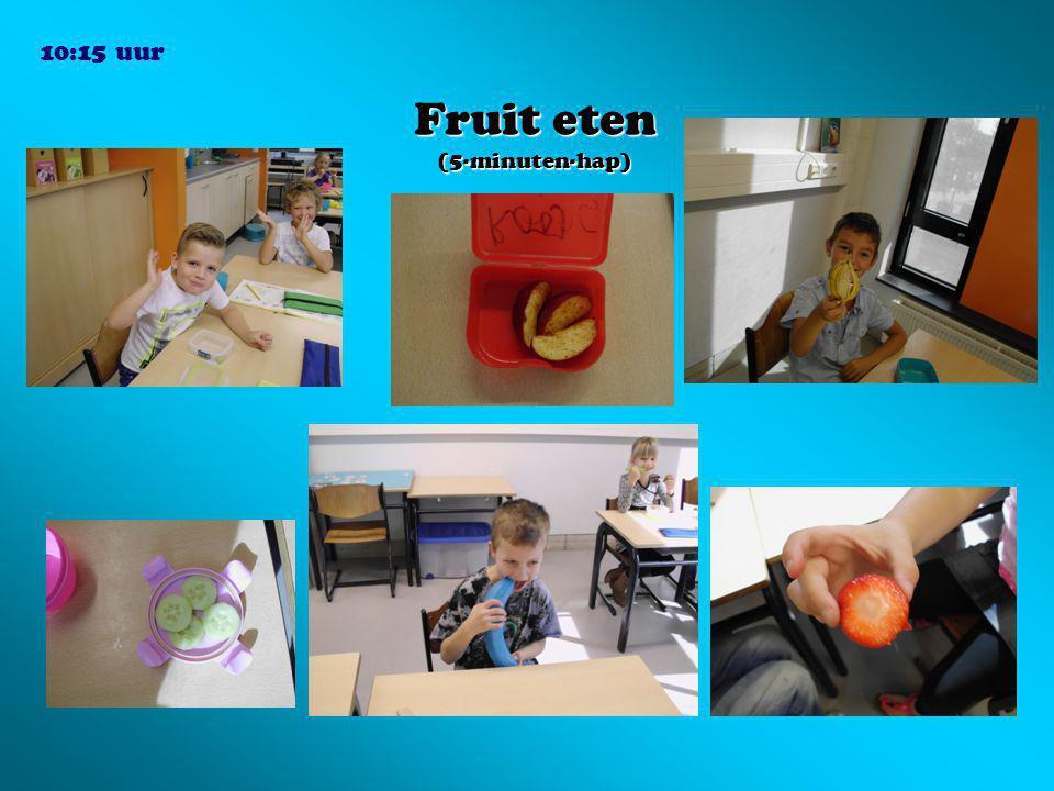 Fruit eten (5-minuten-hap) 10:15 uur