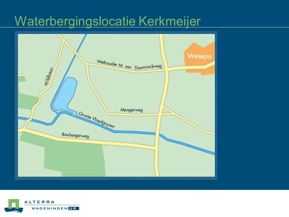 Waterbergingslocatie Kerkmeijer