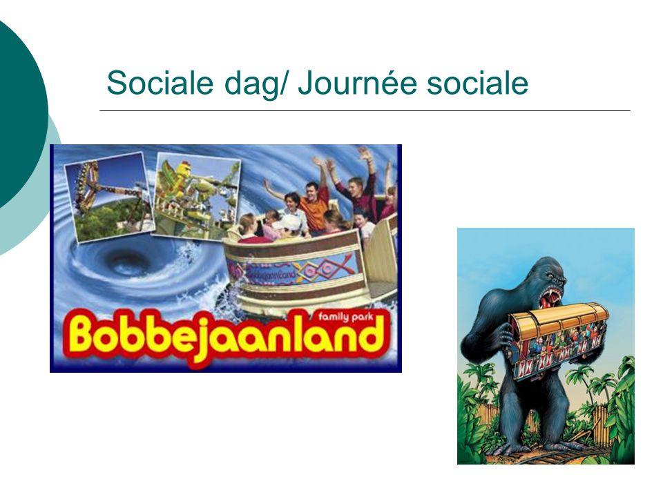 Sociale dag/ Journée sociale