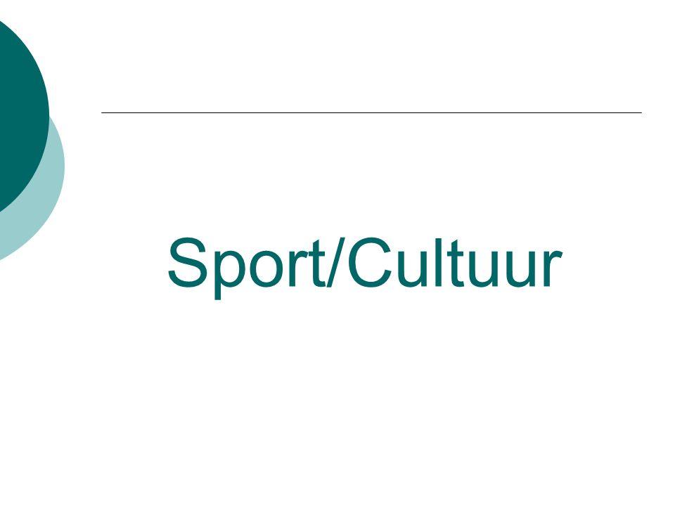 Sport/Cultuur