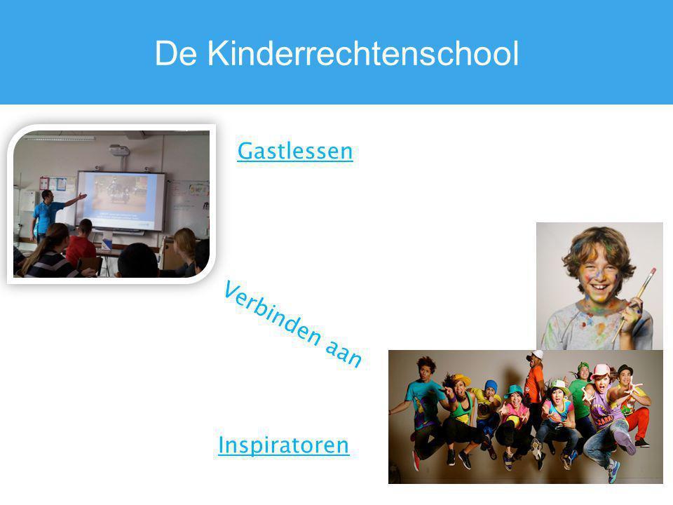 De Kinderrechtenschool Verbinden aan Gastlessen Inspiratoren