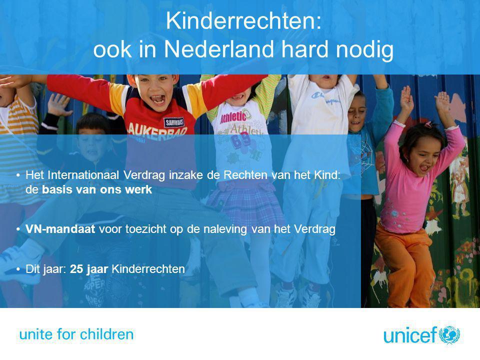 Het Internationaal Verdrag inzake de Rechten van het Kind: de basis van ons werk VN-mandaat voor toezicht op de naleving van het Verdrag Dit jaar: 25