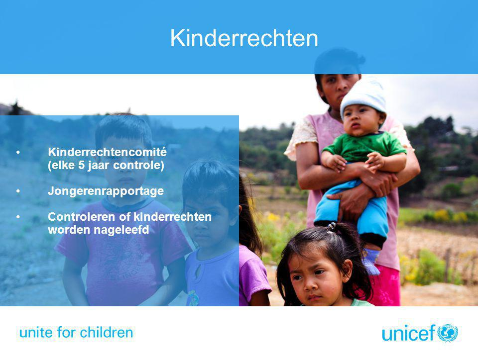 Kinderrechtenweek Kinderrechtenweek: 17-20 november UNICEF Nederland, Gemeente Leiden, Universiteit Leiden Kick-Off Raden van Kinderen Vrijheidslezing (Hillary Clinton?) Wetenschappelijk congres Oefenrechtbank voor studenten Kinderrechtentop