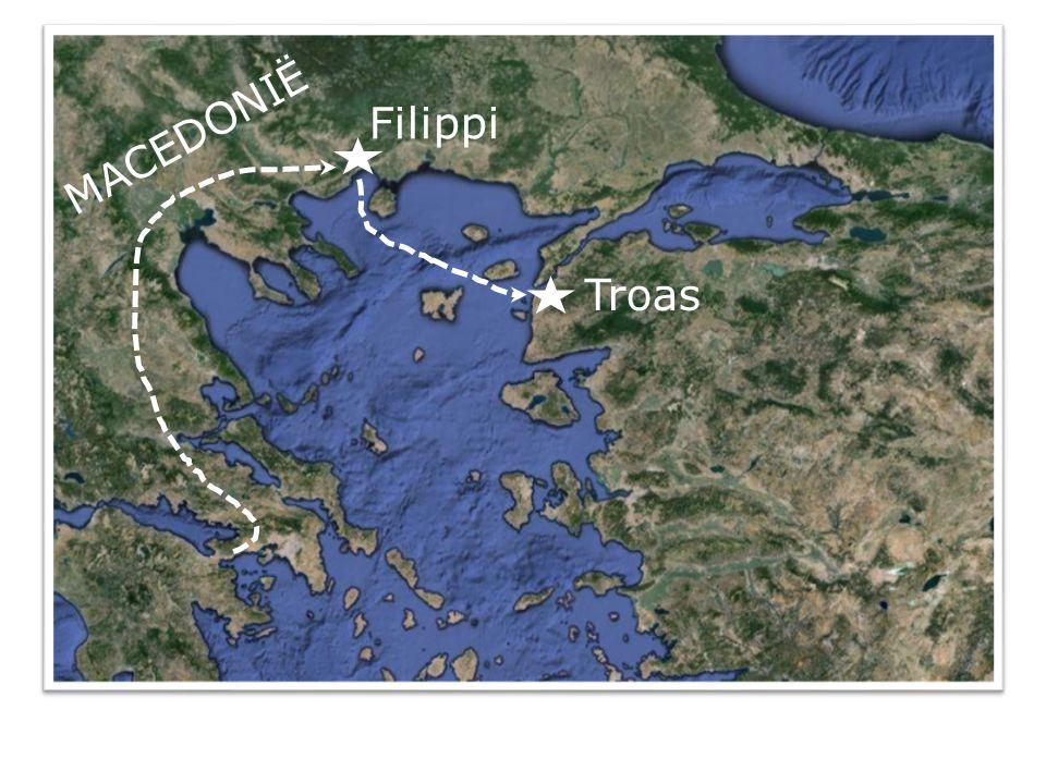 Handelingen 20 6 Maar wij voeren na de dagen der ongezuurde broden van Filippi af en kwamen binnen vijf dagen bij hen te Troas aan, waar wij zeven dagen doorbrachten.