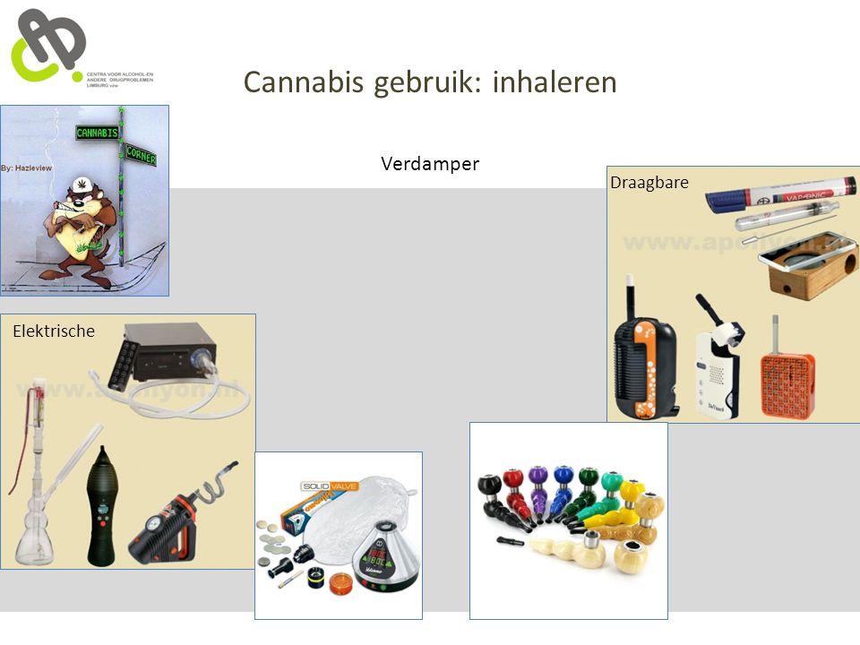 Cannabis gebruik: inhaleren Verdamper Draagbare Elektrische