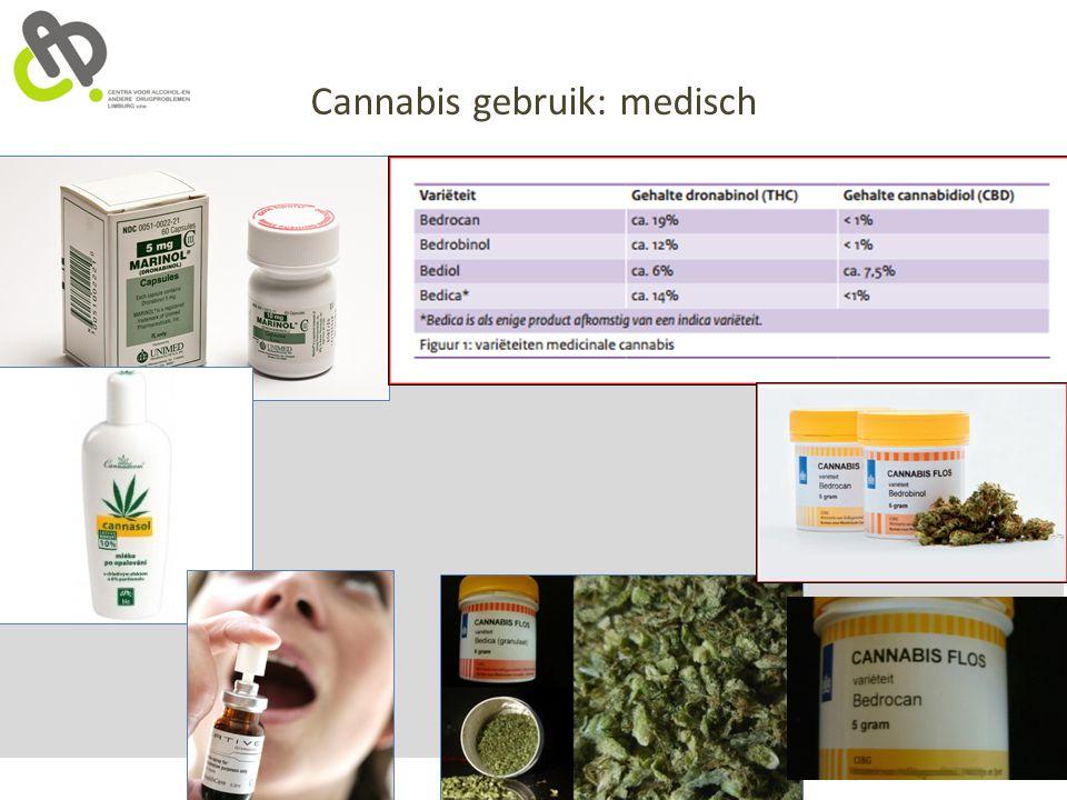 Cannabis gebruik: medisch