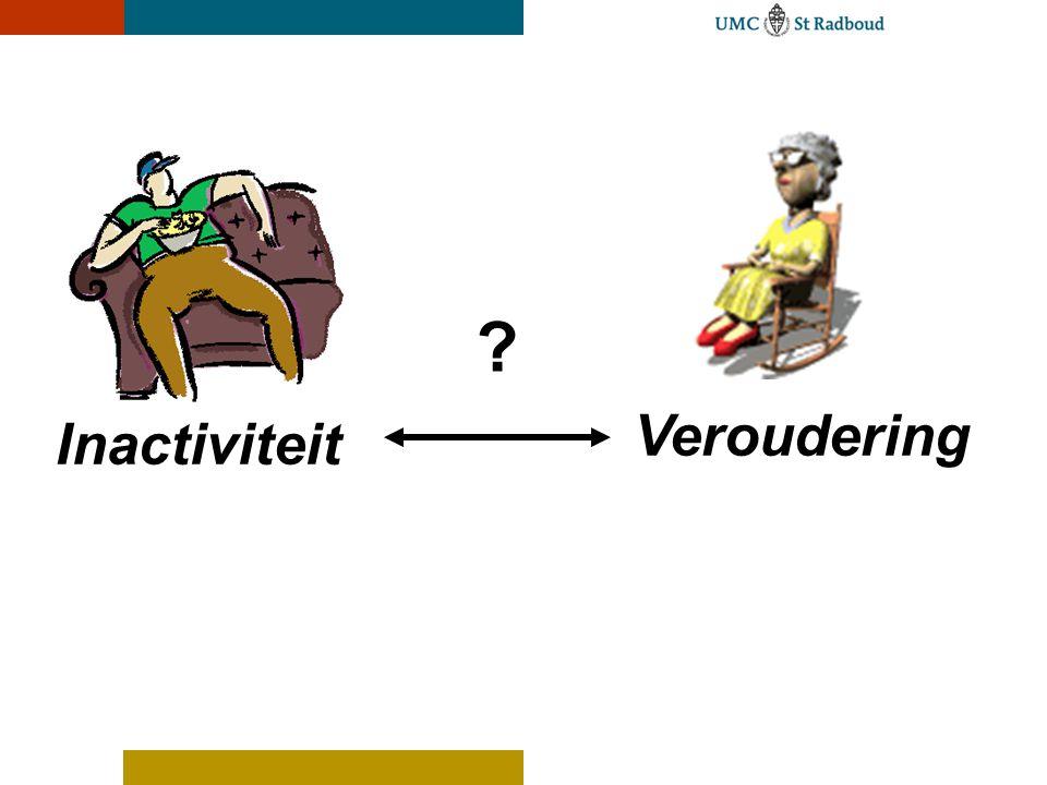 Inactiviteit Veroudering ?