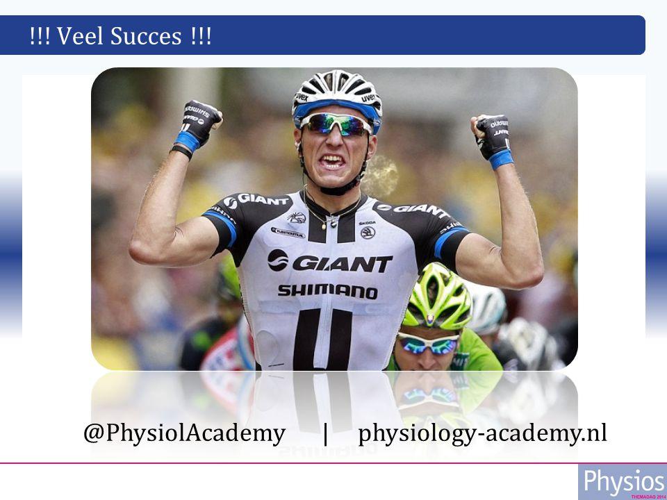 !!! Veel Succes !!! d @PhysiolAcademy   physiology-academy.nl