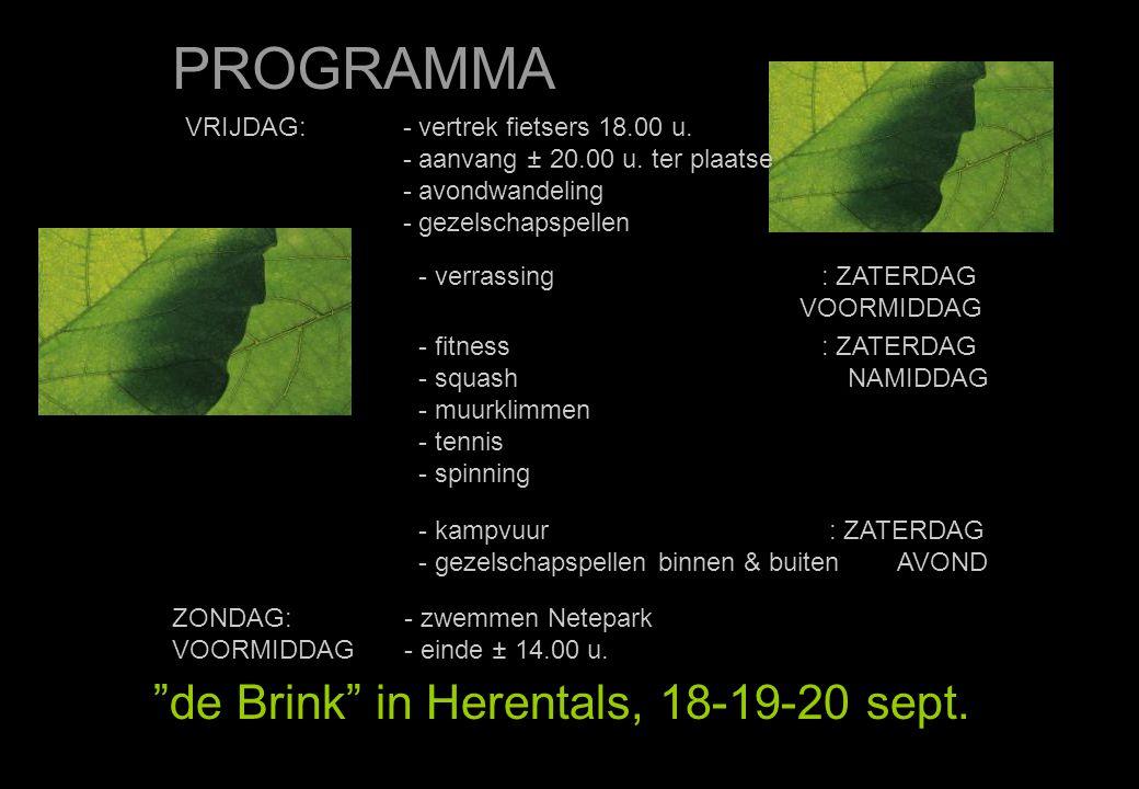 FITNESS de Brink in Herentals, 18-19-20 sept. DE FOTO'S