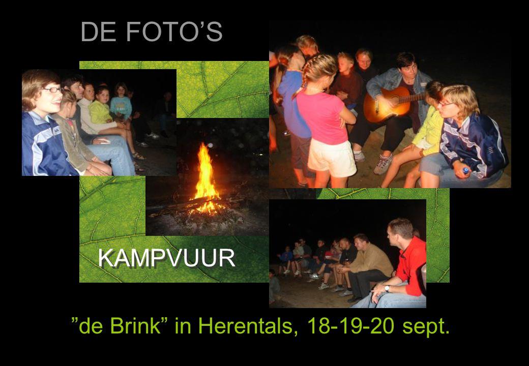 """KAMPVUUR """"de Brink"""" in Herentals, 18-19-20 sept. DE FOTO'S"""