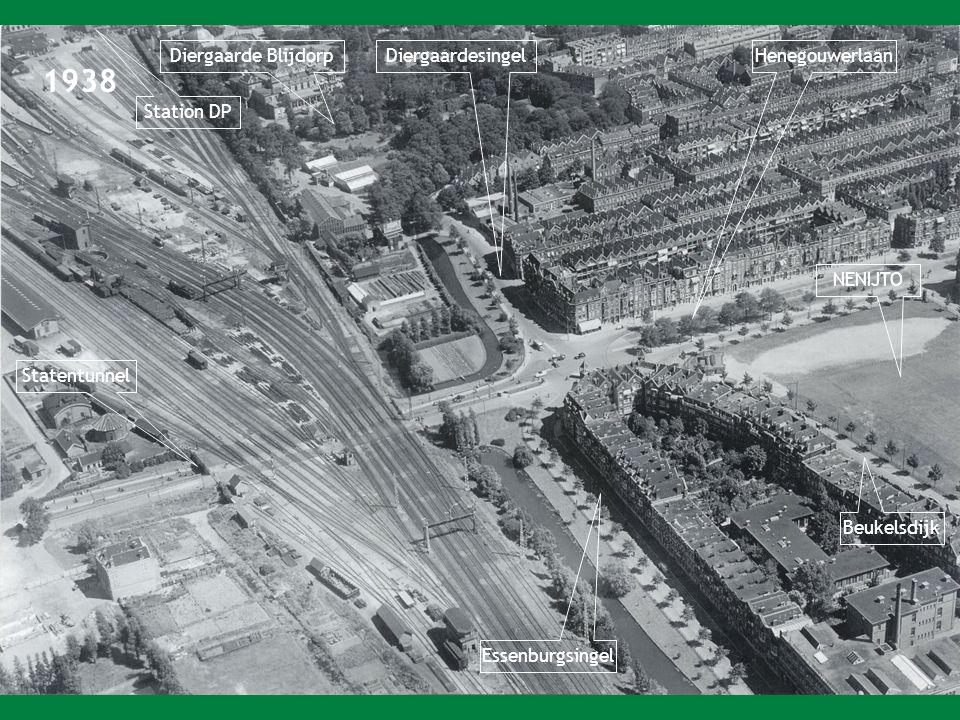1938 Diergaarde BlijdorpDiergaardesingel Essenburgsingel Henegouwerlaan NENIJTO Beukelsdijk Station DP Statentunnel