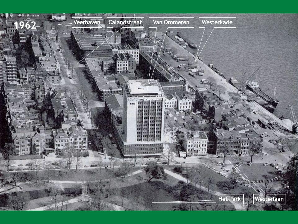 1962 VeerhavenWesterkade Westerlaan Het Park CalandstraatVan Ommeren