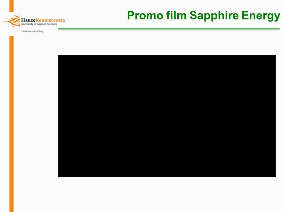 15 Promo film Sapphire Energy