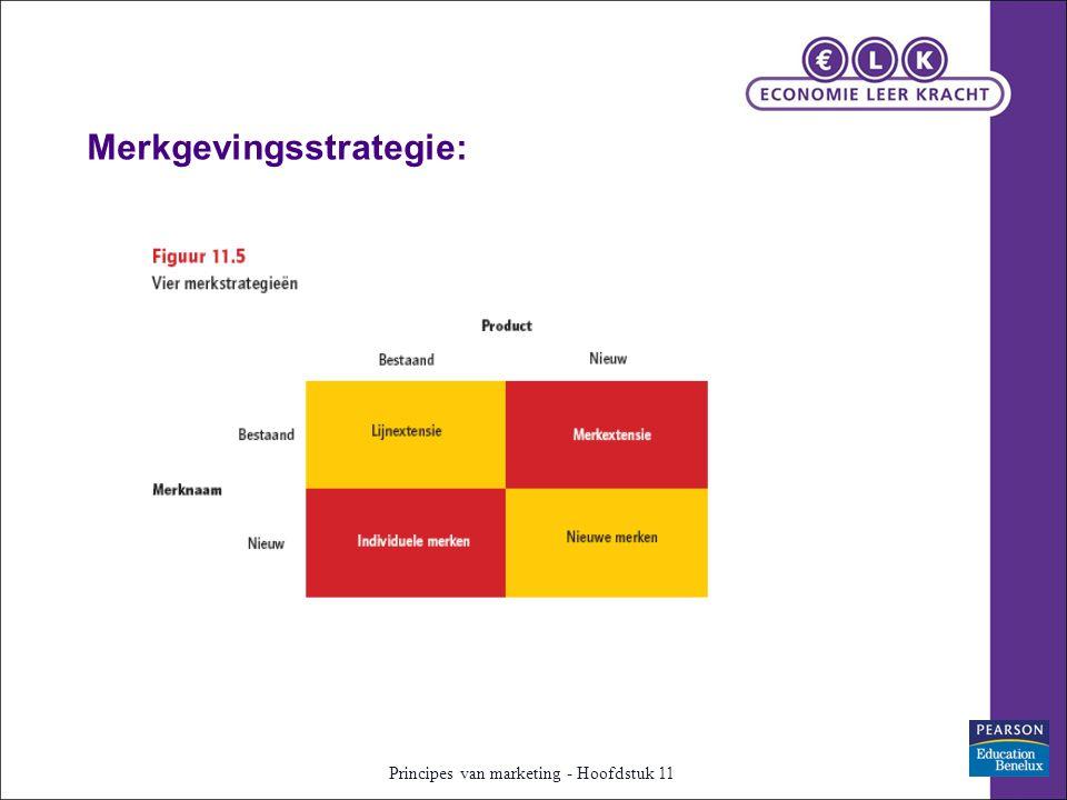 Principes van marketing - Hoofdstuk 11 Merkgevingsstrategie: