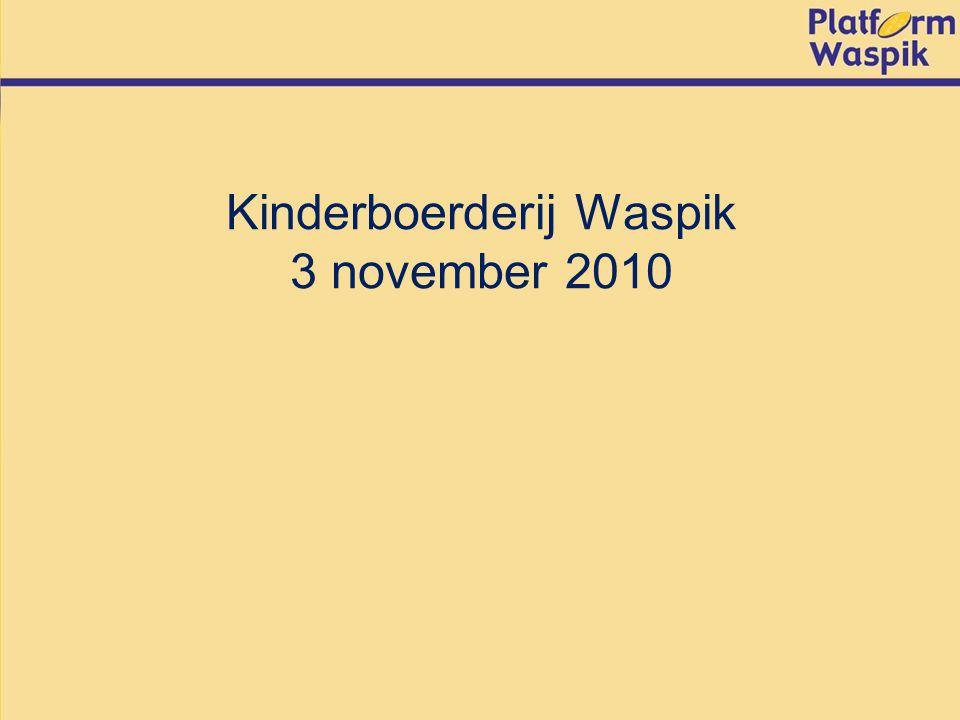 Kinderboerderij Waspik 3 november 2010