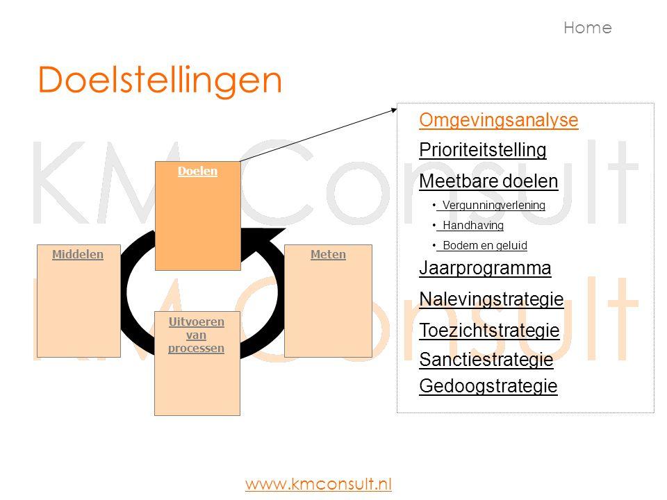 Omgevingsanalyse Home www.kmconsult.nl