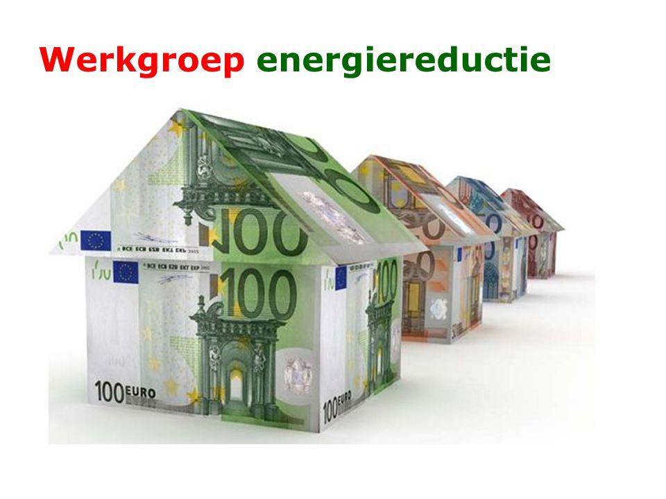 Werkgroep energiereductie