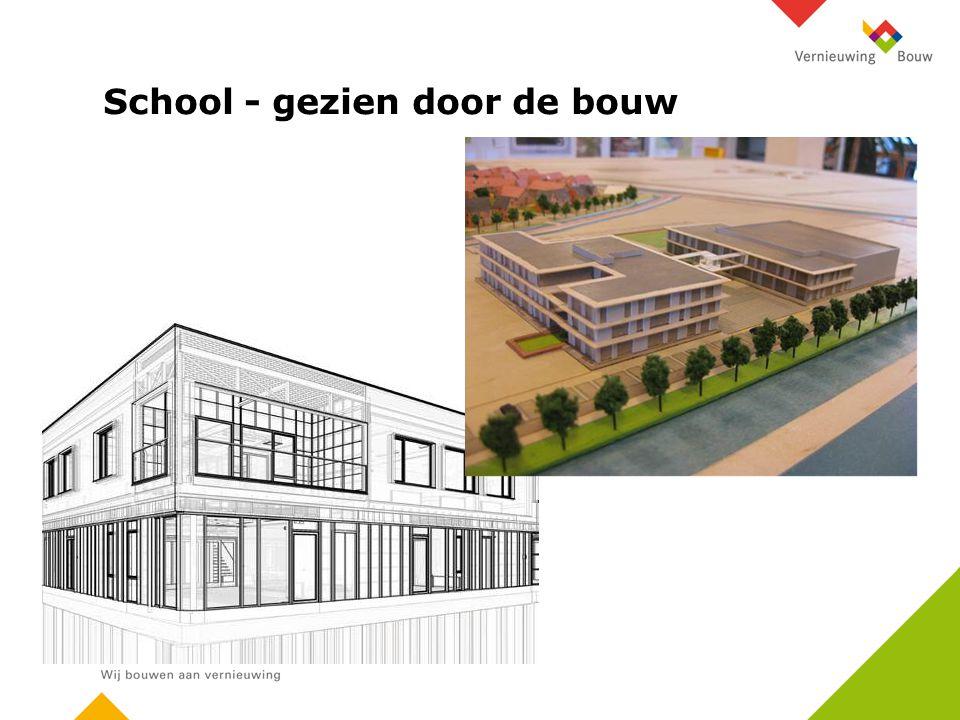 School - gezien door de bouw