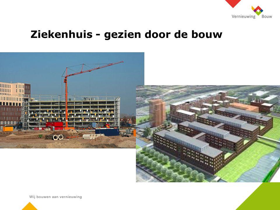 Ziekenhuis - gezien door de bouw