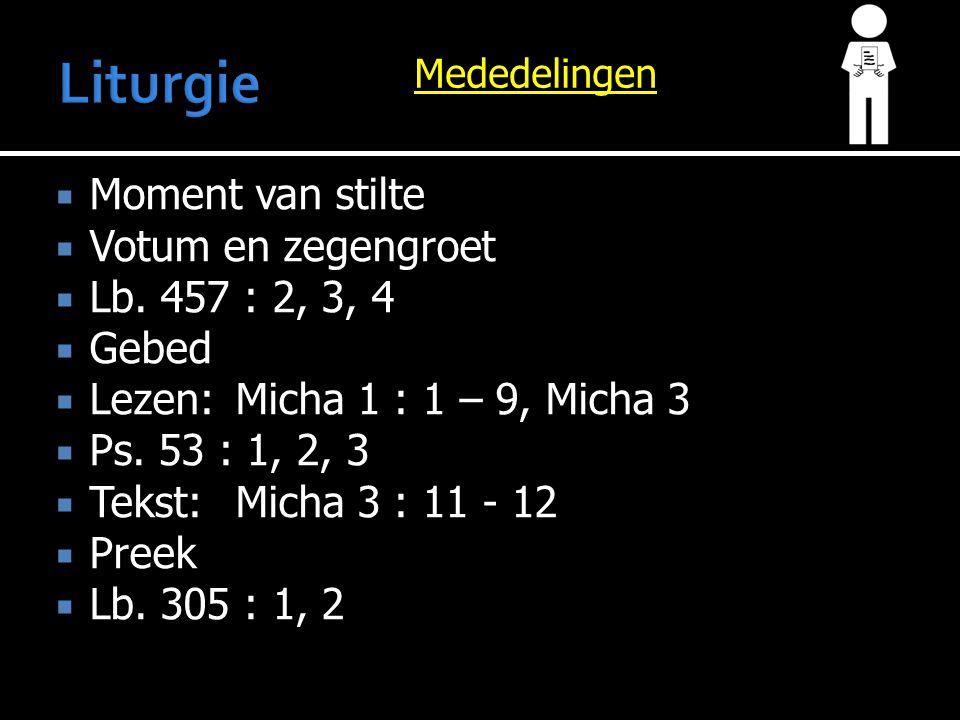 Preek Micha 3