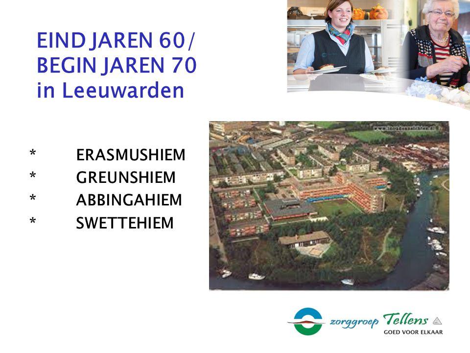 EIND JAREN 60/ BEGIN JAREN 70 in Leeuwarden *ERASMUSHIEM *GREUNSHIEM *ABBINGAHIEM *SWETTEHIEM
