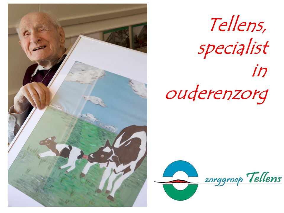 Tellens, specialist in ouderenzorg