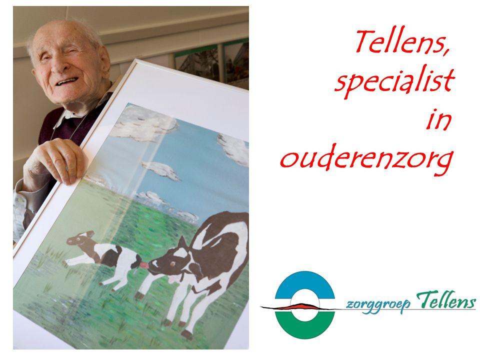 Tellens, specialist in ouderenzorg
